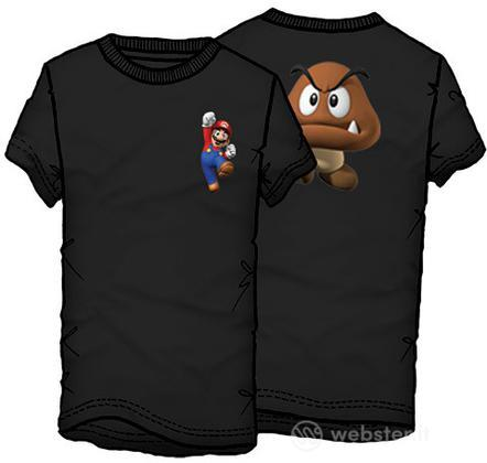T-Shirt Supermario Fungo Tg.L
