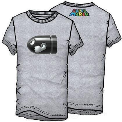 T-Shirt Supermario Proiettile Tg.M