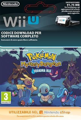 Pokemon Mystery Dung.: Blue Rescue Team