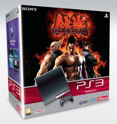 Playstation 3 250 Gb + Tekken 6