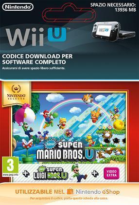 New Super Mario Bros U & Luigi U