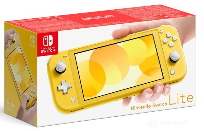 Nintendo Switch Lite Gialla