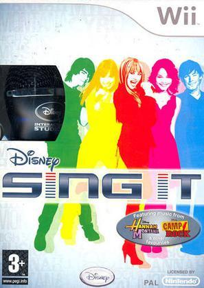 Disney Sing It! Camp Rock + Microfoni