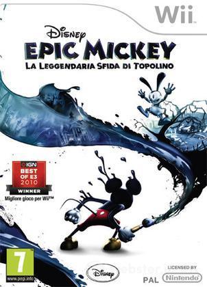 Epic Mickey La leggend.sfida di Topolino