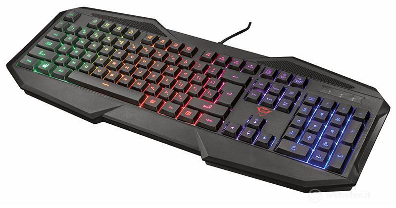 TRUST GXT 830-RW Avonn Gaming Keyboard I