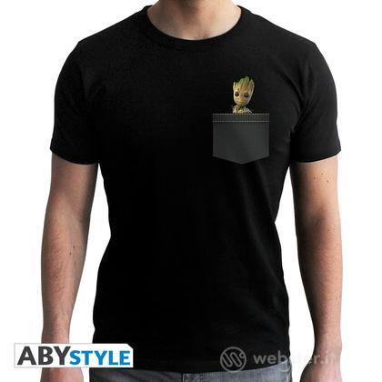 T-Shirt Marvel - Pocket Groot L