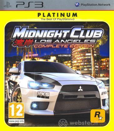 Midnight Club: Los Angeles Platinum