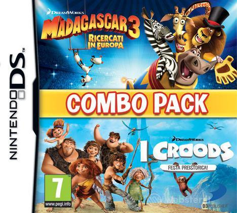 Madagascar 3 & The Croods Combo Pack
