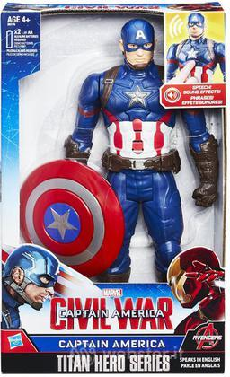 Figure Cap America Elettr. Civil War