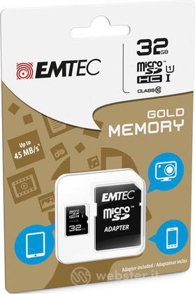 MicroSD + Adapter 32GB Gold(Smartph-Tab)