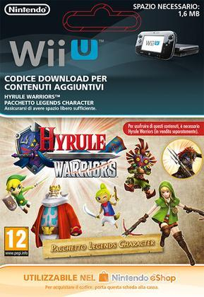Hyrule Warriors Legends Character Pack
