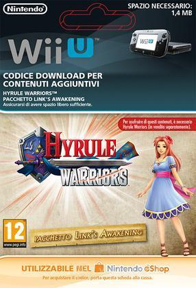Hyrule Warriors Link's Awakening Pack
