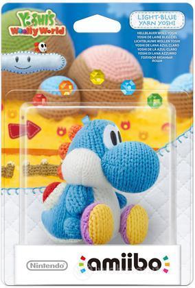 Amiibo Yoshi Azzurro di lana