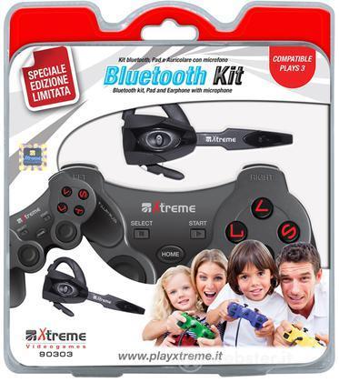 Bluetooth Kit PS3: Auricolare+Ctrl