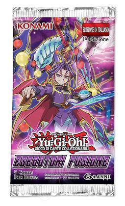 Yu-Gi-Oh! Esecutori Fusione Buste