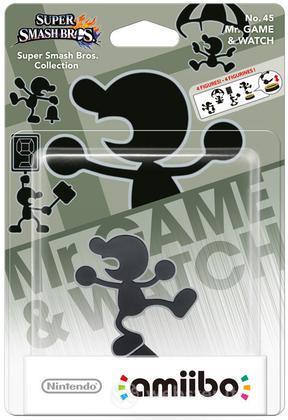 Amiibo Mr. Game & Watch