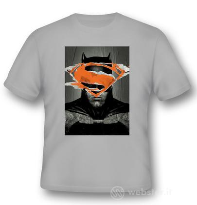 T-Shirt BVS Batman Poster L