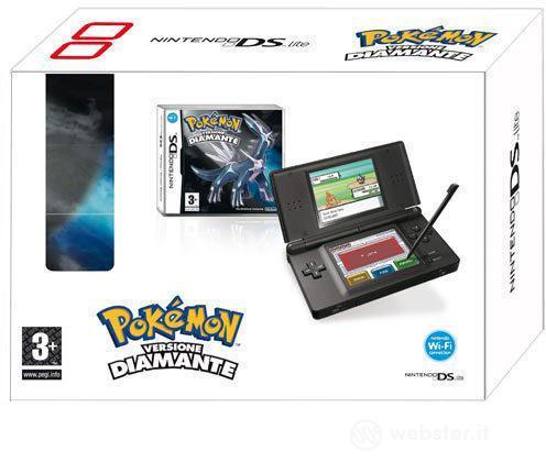 Nintendo NDS Lite Black+Pokemon Diamante