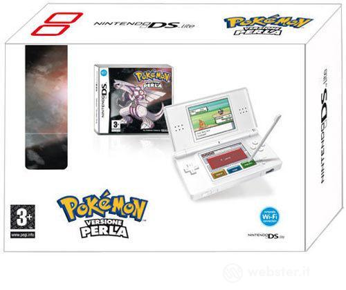 Nintendo NDS Lite White+Pokemon Perla