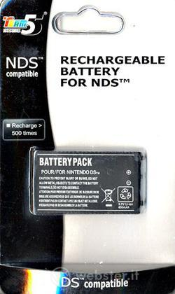 NDS - Batterie Ricaricabili