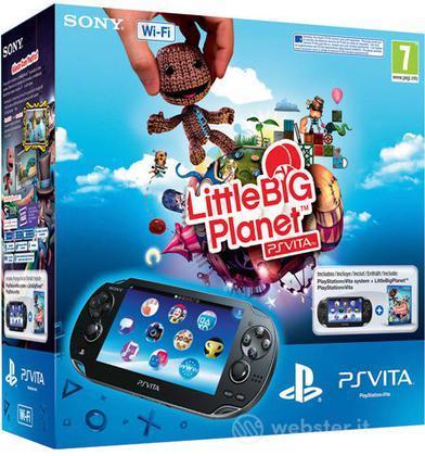 PS Vita WiFi + Little Big Planet