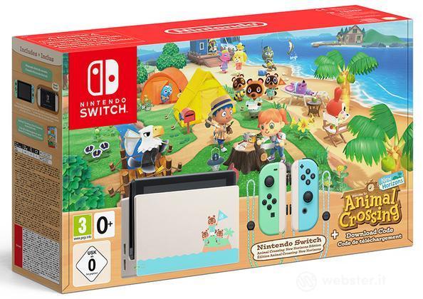 Nintendo Switch AC Ed.+Animal Crossing