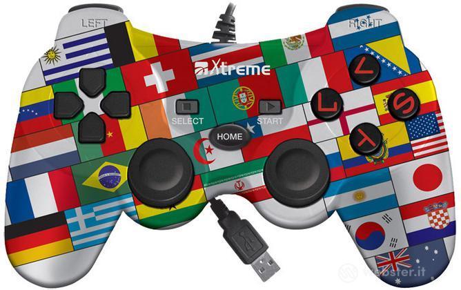 Controller USB Mondial Flags PS3