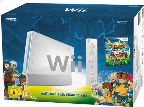 Wii Inazuma Eleven Strikers Pack