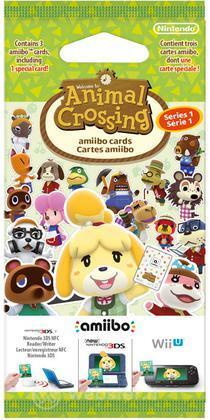 Amiibo Carte Animal Crossing - Serie 1