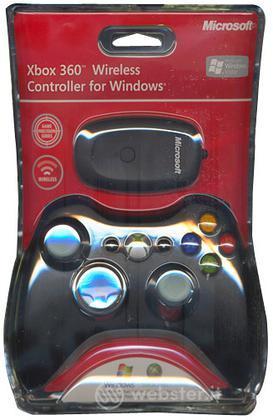 MICROSOFT PC Controller X360 For W.Black