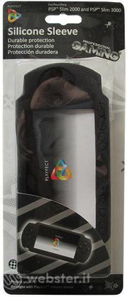 Guscio in Silicone Nero PSP