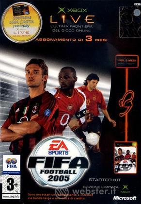 FIFA 2005 + Xbox Live Kit