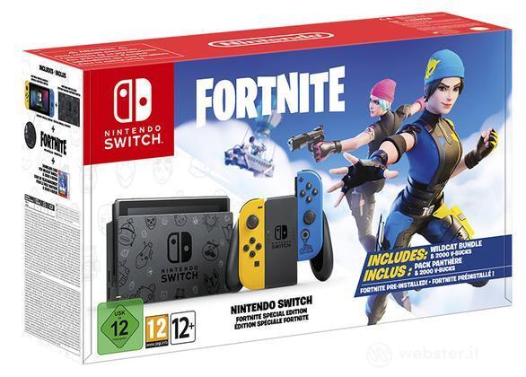 Nintendo Switch Giallo-Blu + Fortnite