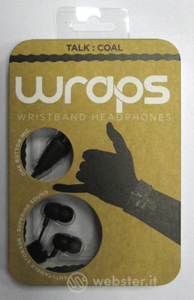 BB Auricolare Wraps Wristband Nero