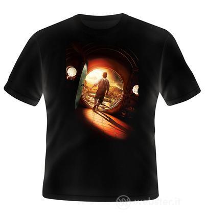 T-Shirt The Hobbit Bilbo Poster M