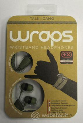 BB Auricolare Wraps Wristband Verde