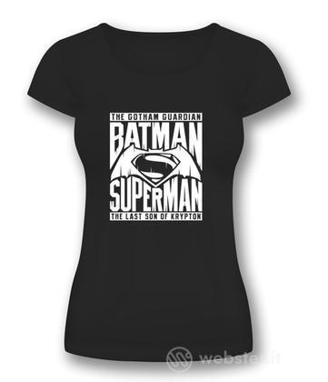 T-Shirt Donna BVS Symbol Black S