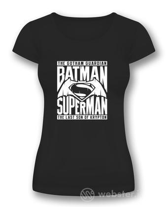 T-Shirt Donna BVS Symbol Black L