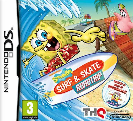 Spongebob Surf & Skate Road Trip