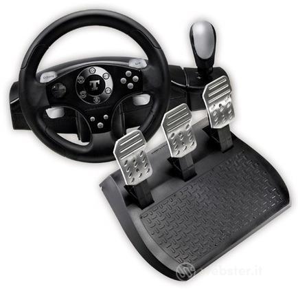 PC Volante Rally GT Pro FF 3 Pedali-THR