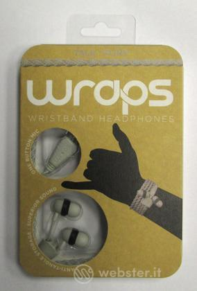 BB Auricolare Wraps Wristband Grigio