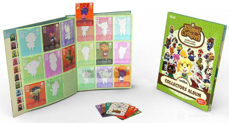 Amiibo Album Carte Animal Crossing HHD