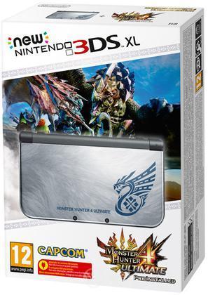 Nintendo New 3DS XL Monster Hunter 4 Ult