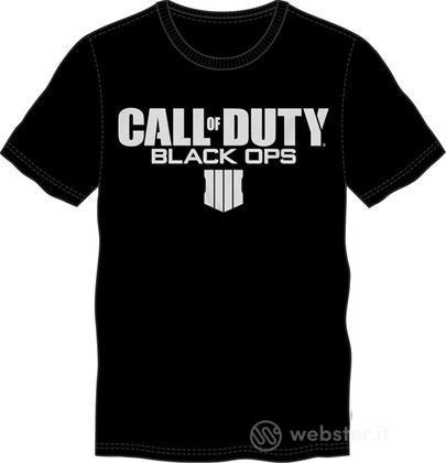 T-Shirt COD Black OPS IIII-Logo Tg.S