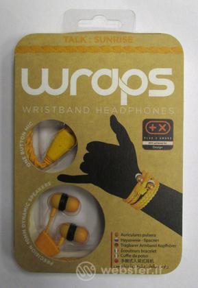 BB Auricolare Wraps Wristband Arancione