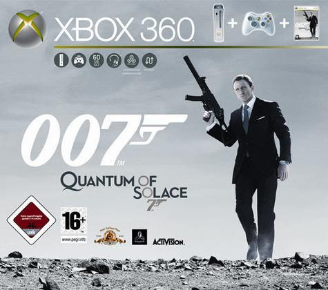 XBOX 360 Pro HDMI 60 GB James Bond