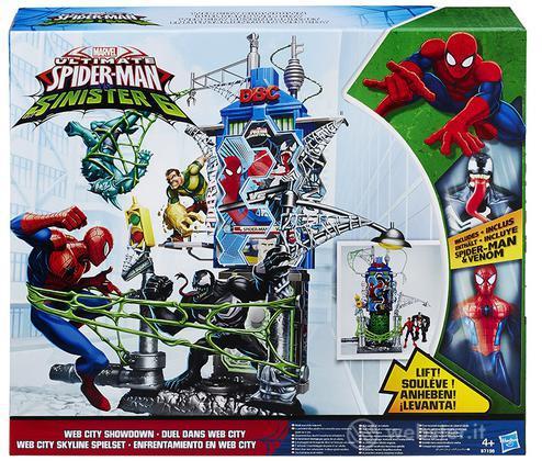 Figure Spiderman Web City Daily Bugle