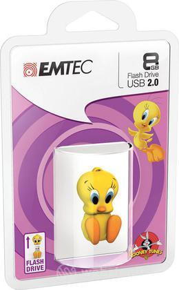 EMTEC USB Key 8GB LOONEY TUNES Tweety 3D