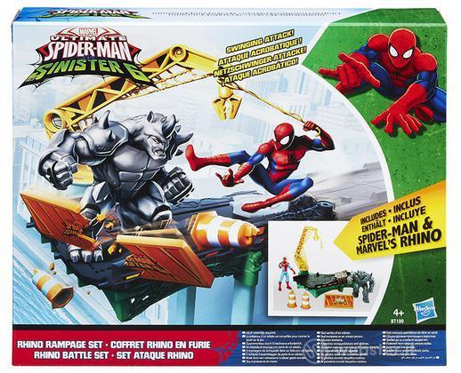 Figure Spiderman Web City Rhino Rampage