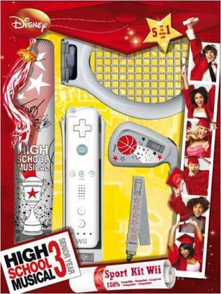 WII Sport Kit 3 in 1 High School Musical